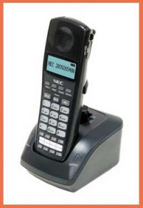 NEC Cordless Phone for A PBX